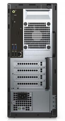Фото Системный блок DELL Optiplex 3050 i5-7500 3.4GHz 8Gb 1Tb HD630 DVD-RW Win10Pro клавиатура мышь черный серебристый 3050-8244. Купить в РФ