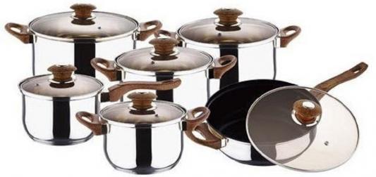 Набор посуды Wellberg RB-2005 12 предметов