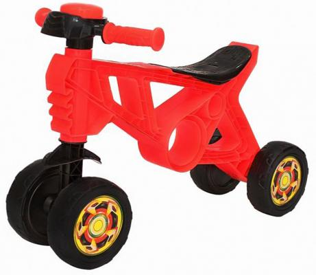 Каталка-беговел RT Самоделкин красный каталка беговел rt самоделкин пластик от 1 года на колесах бирюзовый