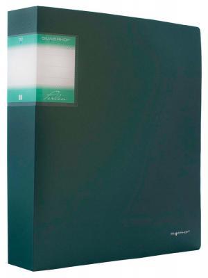 Папка с 80 файлами Silwerhof Perlen А4 1.1мм карман зеленый металлик 291980-75 от 123.ru