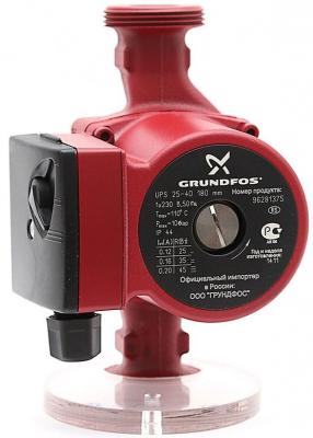 Насос циркуляционный Grundfos UPS 25-40 180 насос циркуляционный grundfos alpha 2 25 40 180