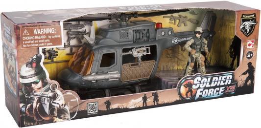 Игровой набор CHAP MEI Десантный вертолет 521003-2 chapmei chapmei игровой набор десантный вертолет