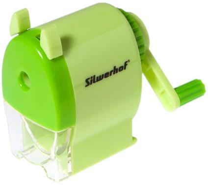 Точилка Silwerhof 192002 пластик зеленый