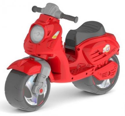 Каталка-мотоцикл RT Скутер красный ОР502