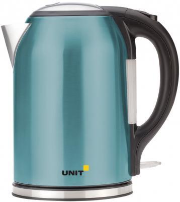 Чайник Unit UEK-270 2000 Вт бирюзовый 1.8 л нержавеющая сталь