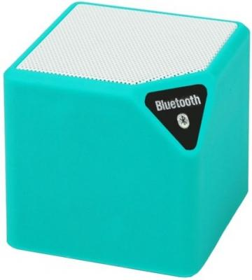 Портативная акустика Ritmix SP-140B сине-белый портативная колонка ritmix sp 140b blue white