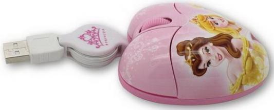 Мышь проводная Cirkuit Planet DSY-MM212 Princess рисунок USB