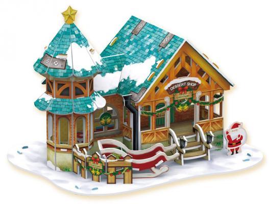 """Пазл 3D CubicFun """"Рождественский домик 3"""" 43 элемента"""