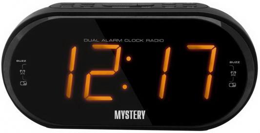 Часы с радиоприёмником MYSTERY MCR-69 чёрный