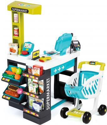 Игровой набор SMOBY Супермаркет с тележкой 41 предмет 350206