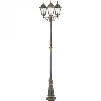 Садово-парковый светильник Favourite London 1808-3F favourite уличный светильник favourite london 1808 1f