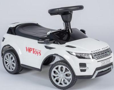 Каталка-машинка R-Toys Land Rover Evoque белый от 1 года пластик