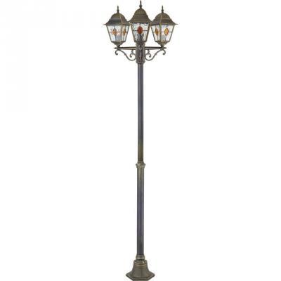 Садово-парковый светильник Favourite Zagreb 1804-3F наземный низкий светильник favourite zagreb 1804 1f