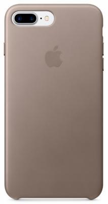 Накладка Apple Leather Case для iPhone 7 серый MPTC2ZM/A