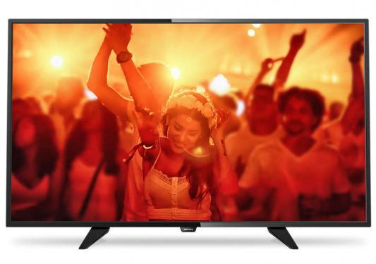Телевизор LED 40 Philips 40PFT4101/60 черный 1920x1080 SCART HDMI USB неисправное оборудование, разбита матрица