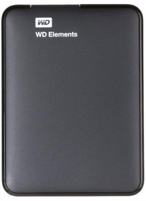 """Внешний жесткий диск 2.5"""" USB3.0 2 Tb Western Digital WDBU6Y0020BBK-WESN черный"""