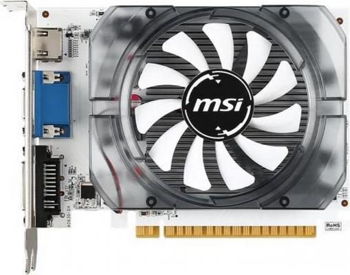 Видеокарта 1024Mb MSI GeForce GT730 PCI-E GDDR3 N730K-1GD3/OCV2 Retail