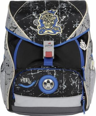 Ранец с наполнением DERDIEDAS ErgoFlex XL Пират 25.5 л серый рисунок 000405-030