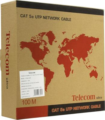 Кабель FTP кат. 5е 4 пары Telecom TFS44150E 100м