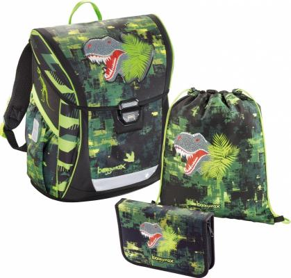 Ранец Step By Step BaggyMax Fabby Green Dino 3 предмета 138630 цена