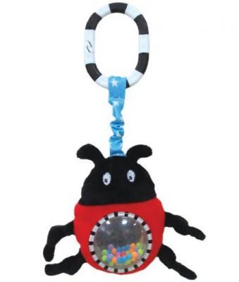 Развивающая игрушка Жирафики Подвеска с зеркальцем Жучок Джек 939341 жирафики развивающая игрушка подвеска бабочка муз