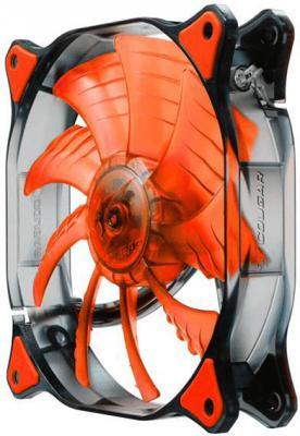 Вентилятор COUGAR CF-D14HB-R 140x140x25мм 3pin 1000rpm красный