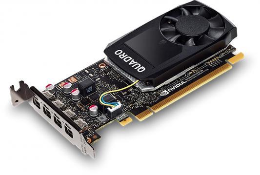 Видеокарта 4096Mb PNY Quadro P1000 PCI-E 128bit GDDR5 4xminiDP VCQP1000BLK-1 OEM