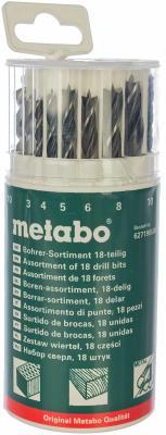 Набор сверл Metabo 18шт 627190000