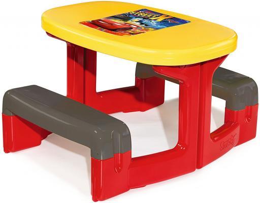Столик SMOBY Cars 310292 пластиковая мебель smoby столик для пикника cars