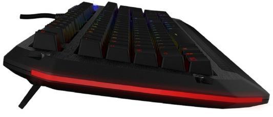Клавиатура проводная Tesoro Colada Evil Spectrum USB черный TS-G3SFL MX BK/BL от 123.ru