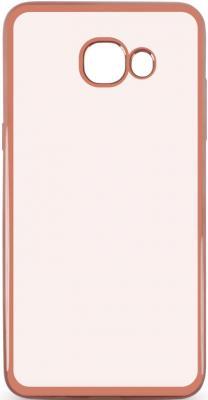 Чехол силиконовый DF sCase-37 для Samsung Galaxy J5 Prime/ On5 2016 с рамкой розовый чехол силиконовый df scase 24 с рамкой для samsung galaxy a7 2016 розовый