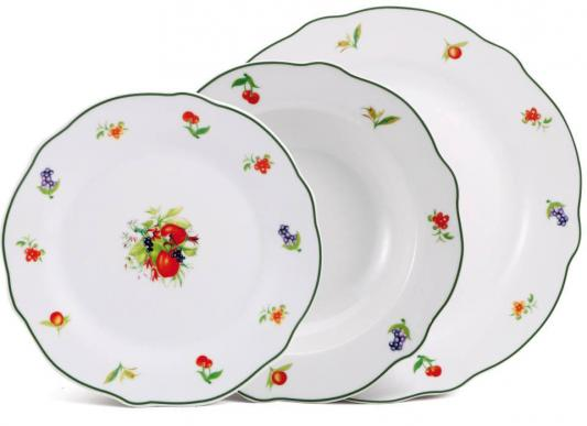 Набор тарелок Bergner BF-8042 18 предметов bergner