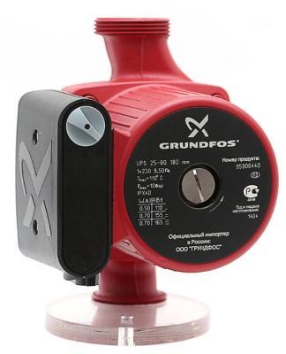 Насос циркуляционный Grundfos UPS 25-80 180 (95906440) насос grundfos alpha2 25 80 180 99420015