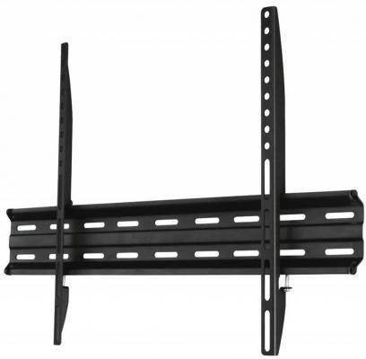 Кронштейн HAMA H-118107 черный для ЖК ТВ 81-190 настенный фиксированный max 40 кг кронштейн для тв hama h 108736 white