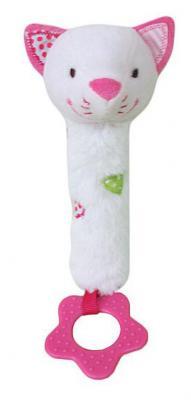 """Пищалка-прорезыватель Жирафики """"Кошечка Кити"""" 939452 розовый с рождения пищалка"""