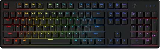 цена на Клавиатура проводная Tesoro Gram Spectrum BK/BL USB черный TS-G11SFL (B) BL