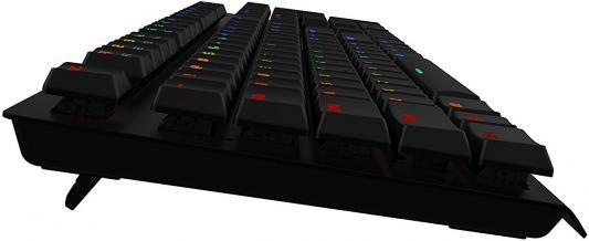 Клавиатура проводная Tesoro Gram Spectrum BK/BL USB черный TS-G11SFL (B) BL от 123.ru