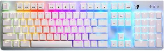 Клавиатура проводная Tesoro Gram Spectrum WH/RD USB белый umbra 3 7х4 см qualy ql10184 wh rd