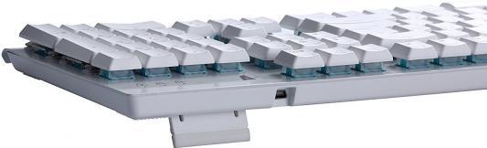 Клавиатура проводная Tesoro Gram Spectrum WH/RD USB белый от 123.ru