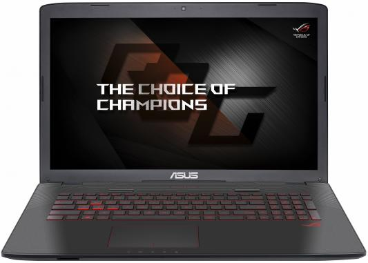 Ноутбук ASUS GL752VW-T4483T 17.3 1920x1080 Intel Core i7-6700HQ 90NB0A42-M06740 ноутбук asus rog gl752vw 90nb0a42 m06740 90nb0a42 m06740
