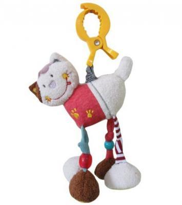 Развивающая игрушка Жирафики Подвеска с вибрацией Кошечка Мими 939468 жирафики развивающая игрушка подвеска бабочка муз
