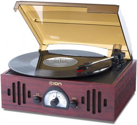 Виниловый проигрыватель ION Audio Trio LP черный