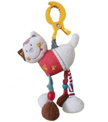 Развивающая игрушка Жирафики Подвеска с вибрацией Кошечка Мими 939467 жирафики развивающая игрушка подвеска бабочка муз