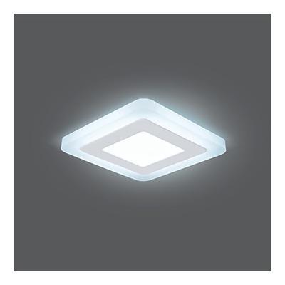 Встраиваемый светодиодный светильник Gauss Backlight BL121 встраиваемый светодиодный светильник gauss backlight bl124