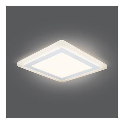 Встраиваемый светодиодный светильник Gauss Backlight BL124 gauss встраиваемый светильник gauss backlight bl124 квадрат акрил 12 4w led 3000k 190 190 1 20 bl124