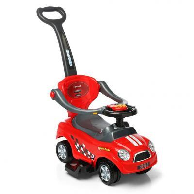 Каталка-машинка Rich Toys Quick Coupe 150130 красный от 1 года пластик
