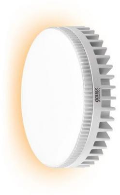 Лампа светодиодная GX53 6W 2700K таблетка матовая 83816 лампа светодиодная gx70 12w 2700k таблетка матовая 131016112