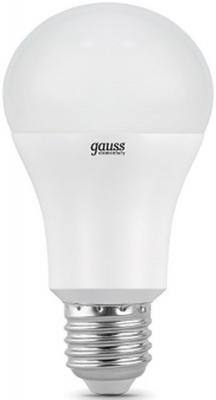 Лампа светодиодная шар Gauss LED A60 E27 15W 4100K 23225 от 123.ru