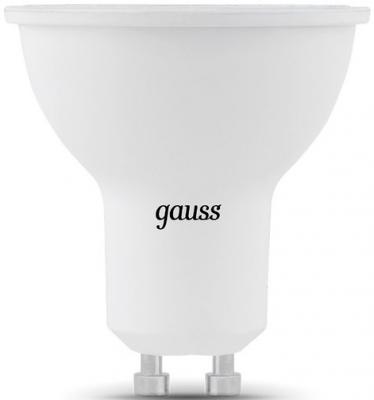 Лампа светодиодная полусфера Gauss GU10 7W 4100K 101506207 от 123.ru
