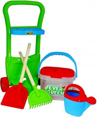 Песочный набор Wader 395 Even Green 5 предметов 38418